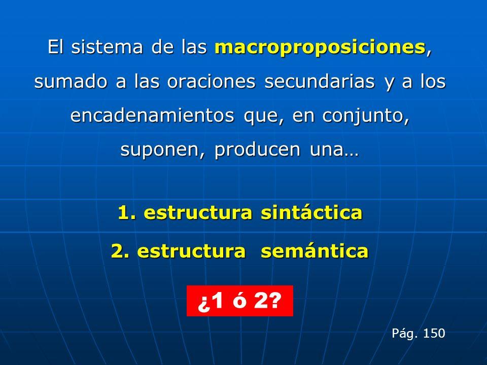 1. estructura sintáctica