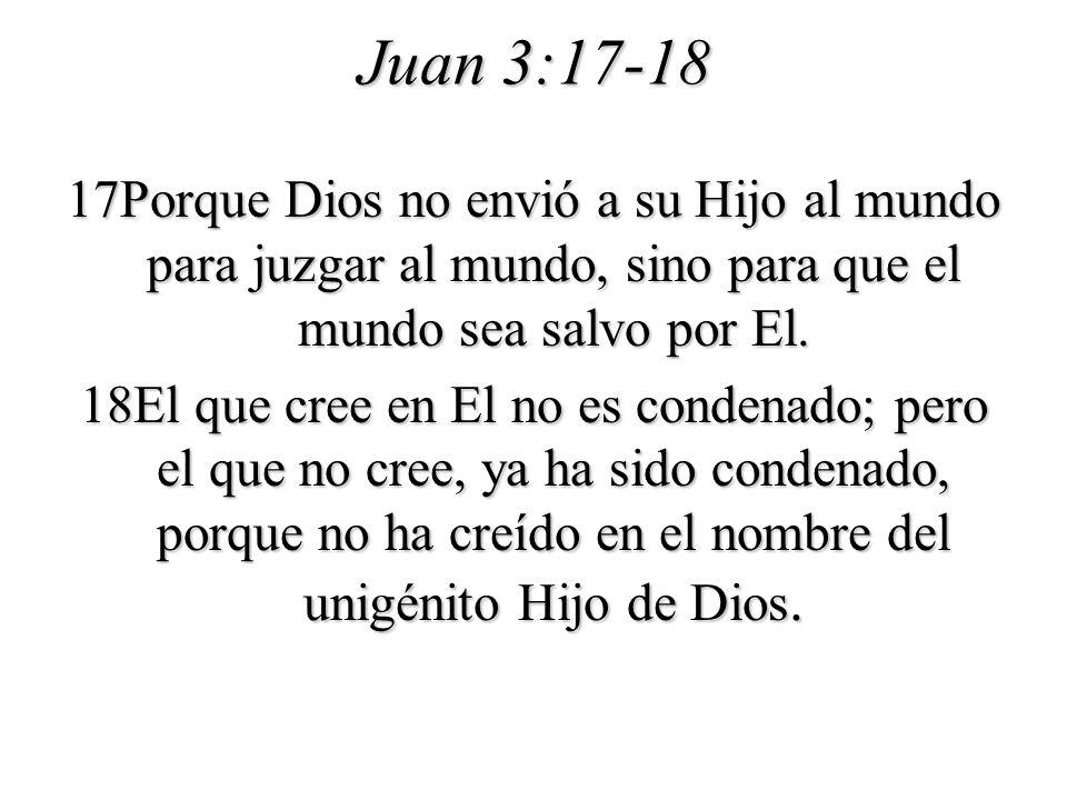 Juan 3:17-18