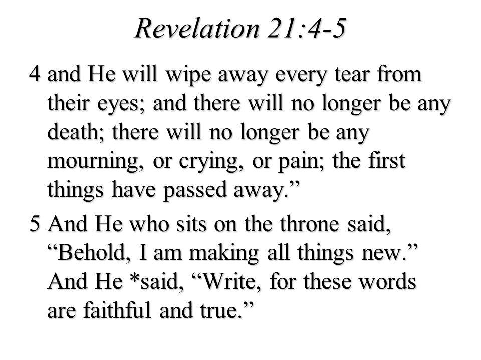 Revelation 21:4-5