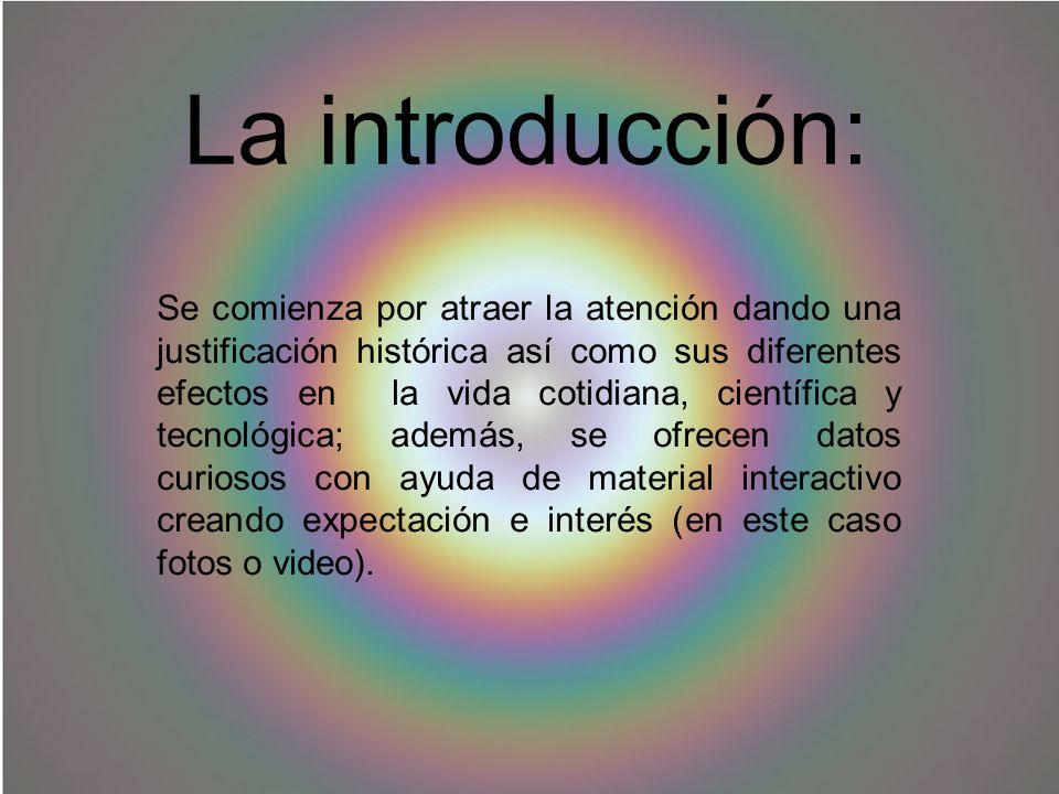 La introducción: