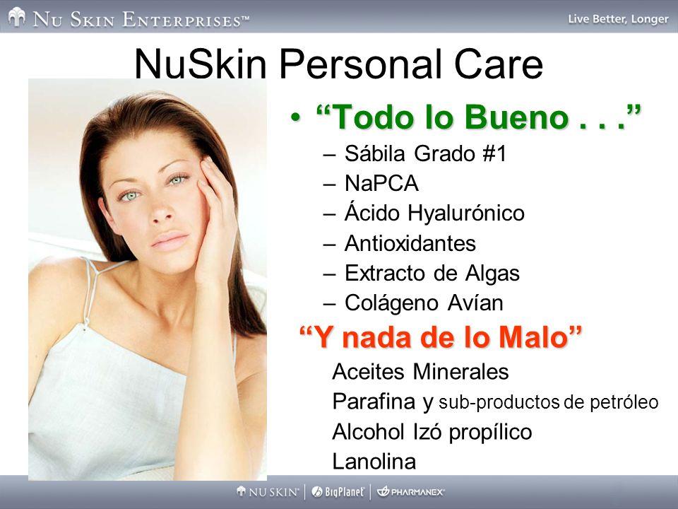 NuSkin Personal Care Todo lo Bueno . . . Y nada de lo Malo