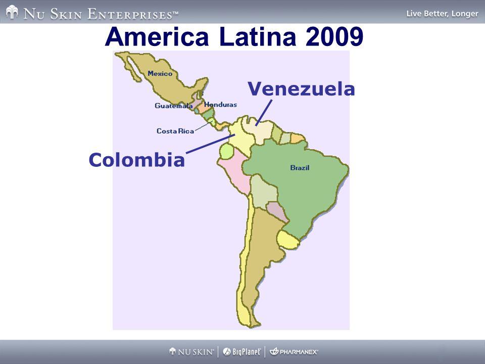 America Latina 2009 Venezuela Colombia