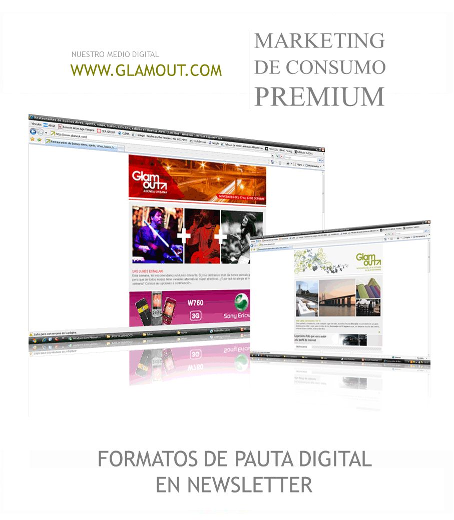 FORMATOS DE PAUTA DIGITAL EN NEWSLETTER
