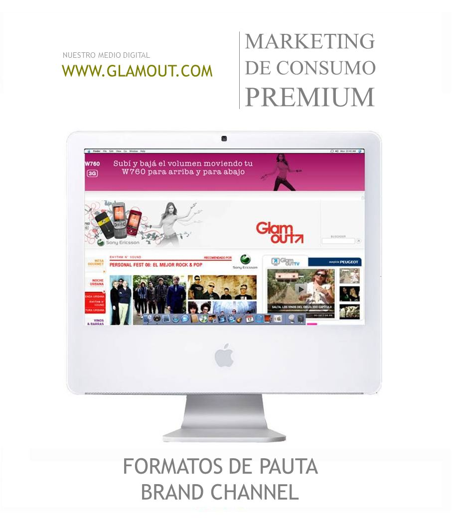 FORMATOS DE PAUTA BRAND CHANNEL