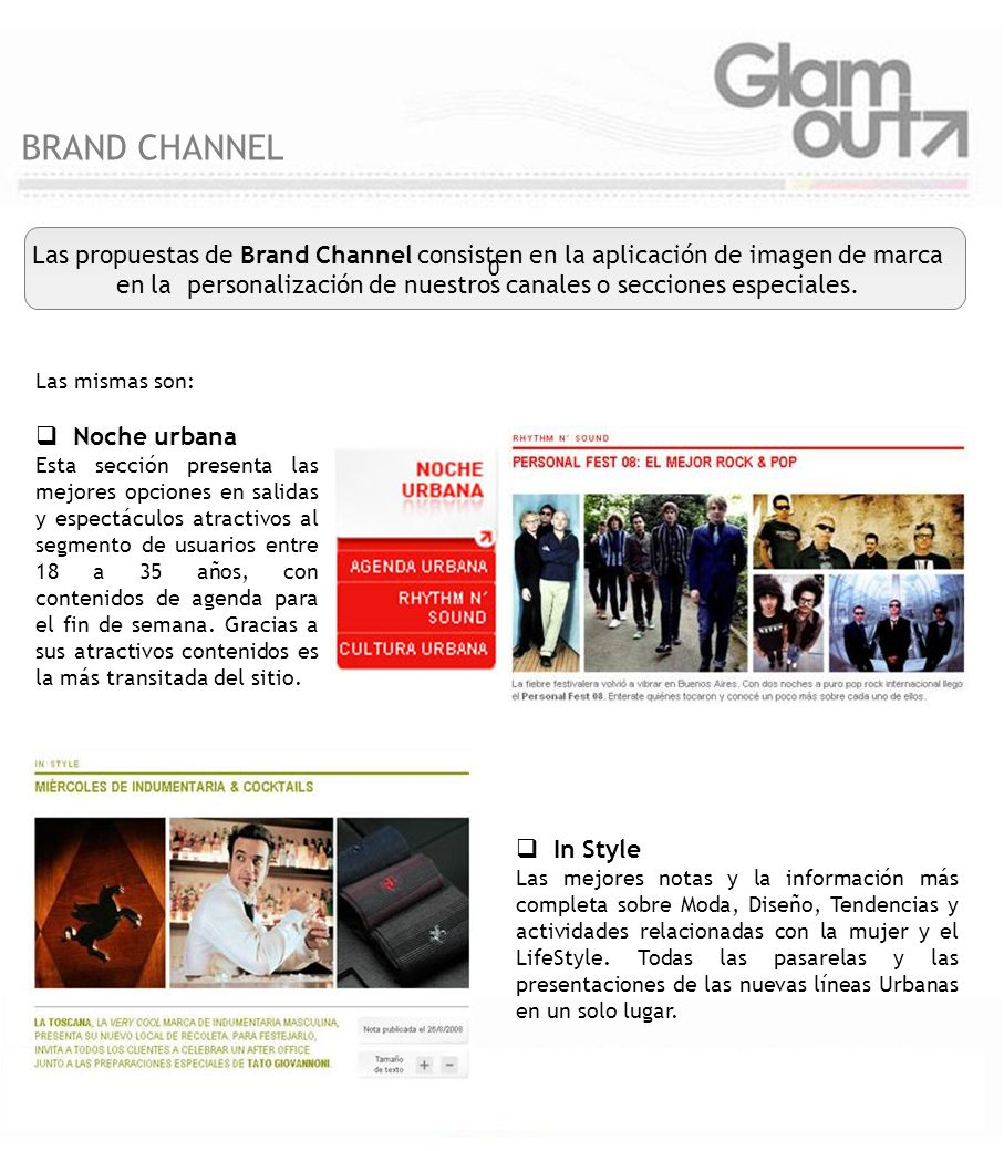 BRAND CHANNEL
