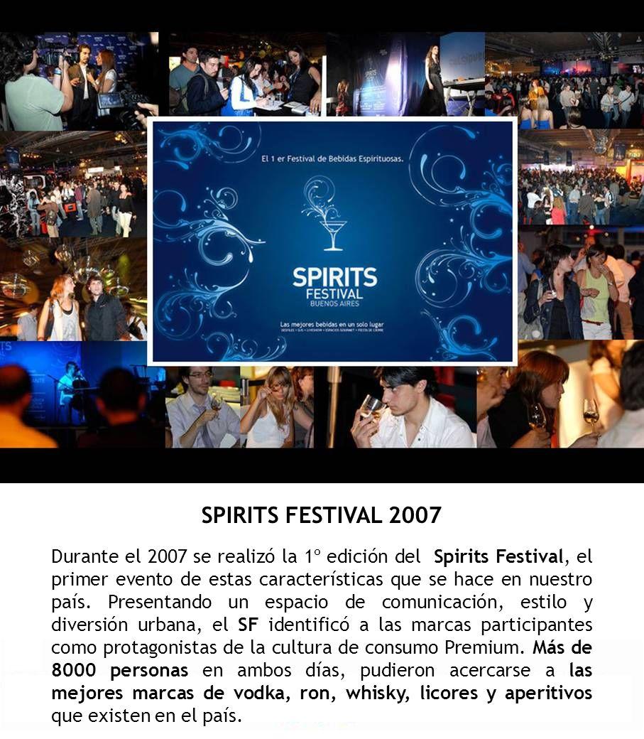 SPIRITS FESTIVAL 2007