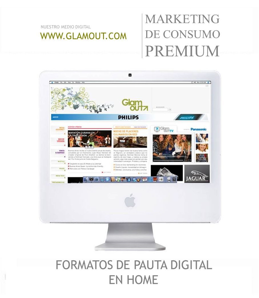 FORMATOS DE PAUTA DIGITAL EN HOME