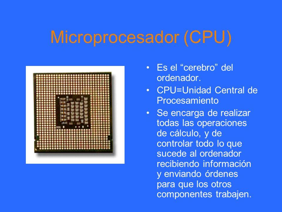 Microprocesador (CPU)