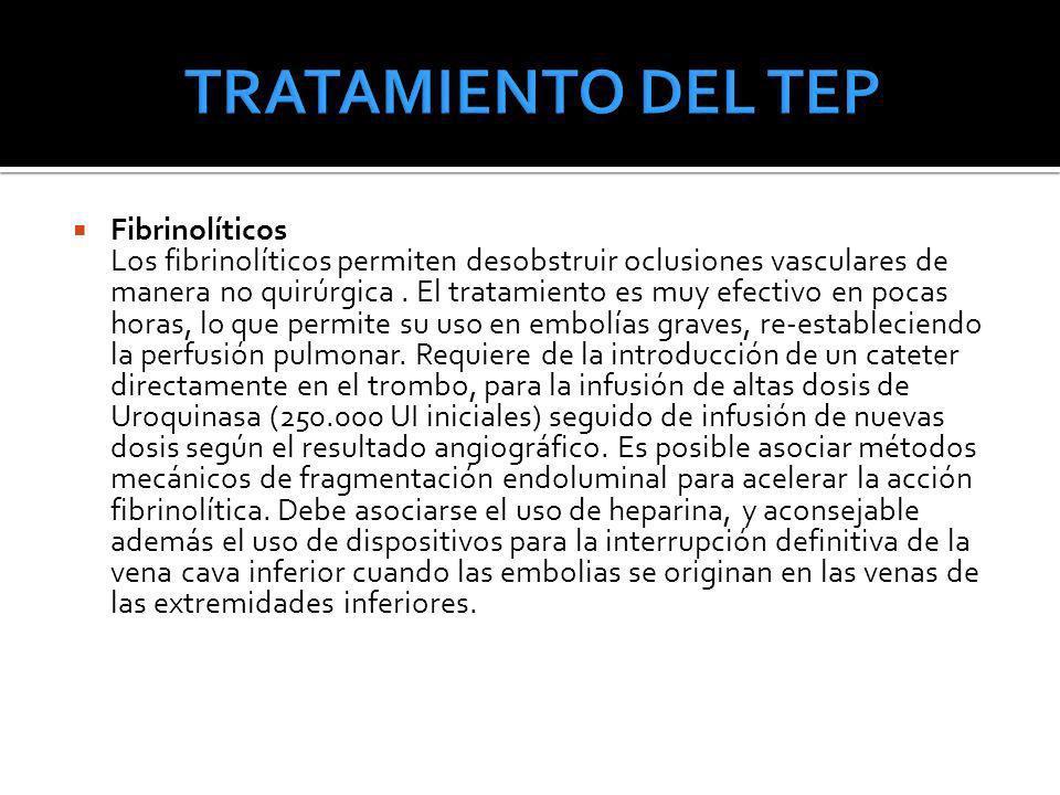 TRATAMIENTO DEL TEP