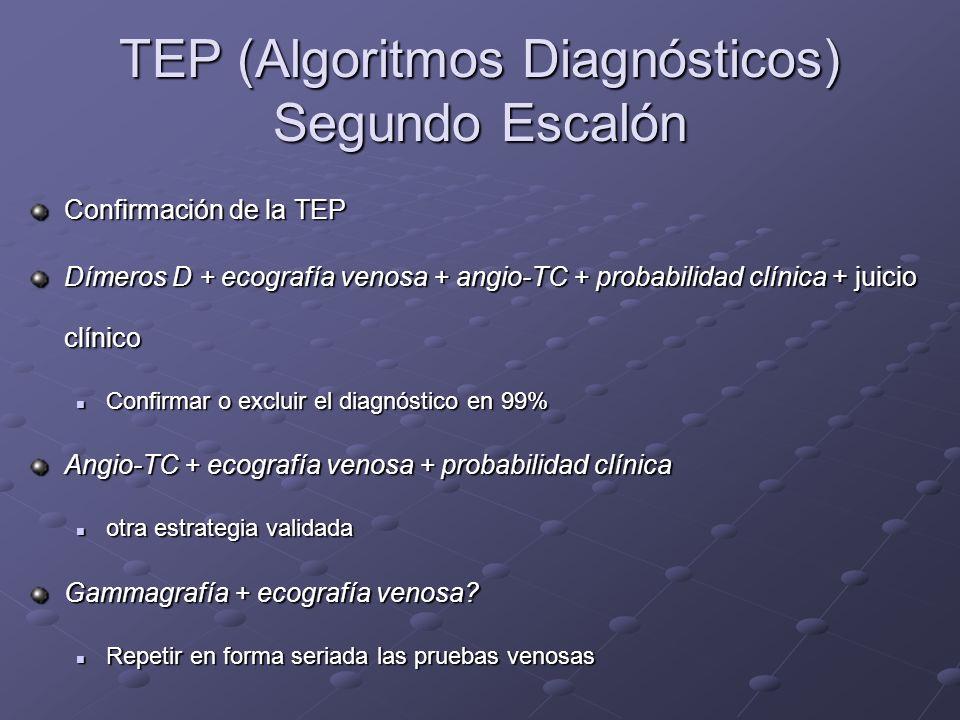TEP (Algoritmos Diagnósticos) Segundo Escalón