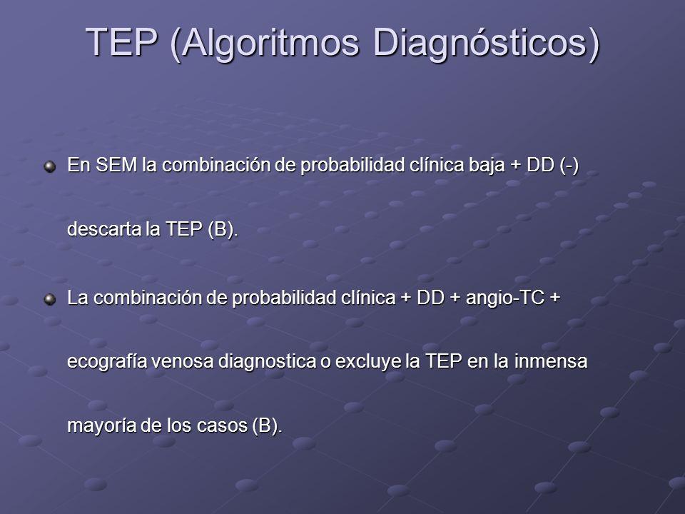 TEP (Algoritmos Diagnósticos)