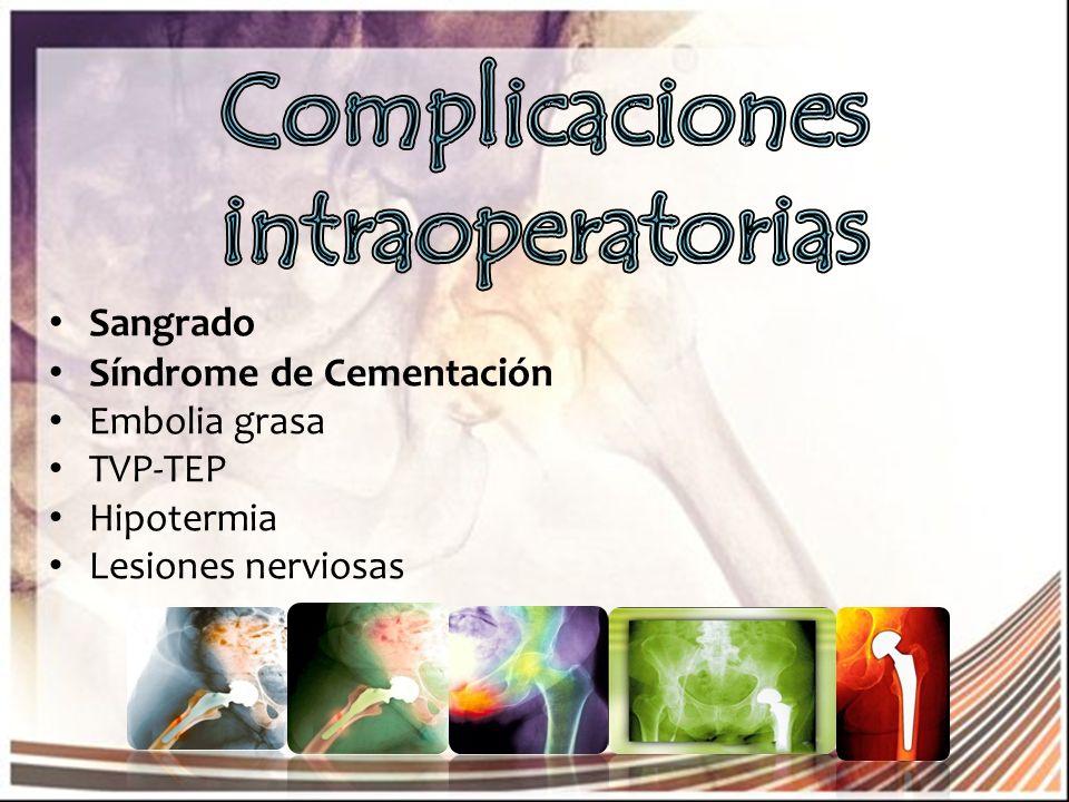 Complicaciones intraoperatorias
