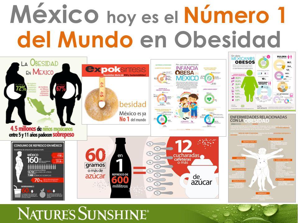 México hoy es el Número 1 del Mundo en Obesidad
