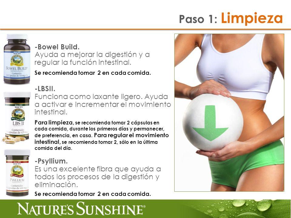 Paso 1: Limpieza -Bowel Build.