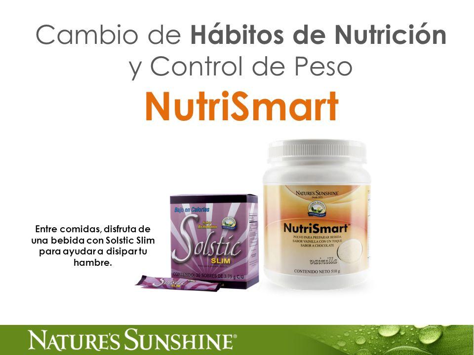 Cambio de Hábitos de Nutrición y Control de Peso