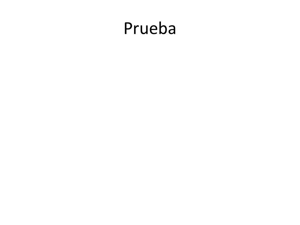 Prueba