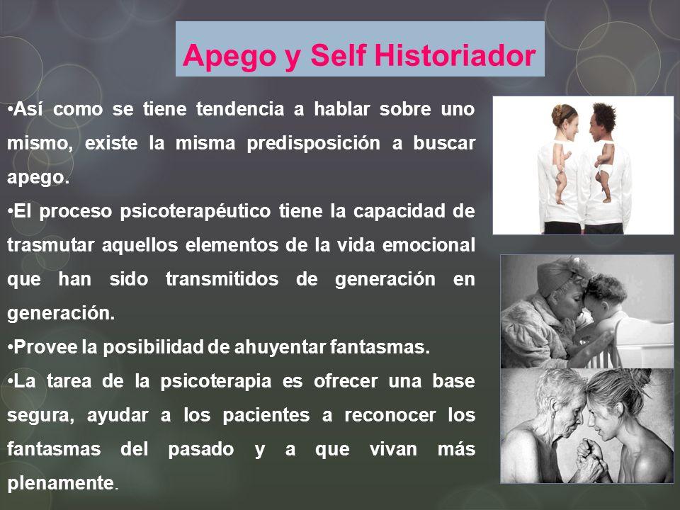 Apego y Self Historiador