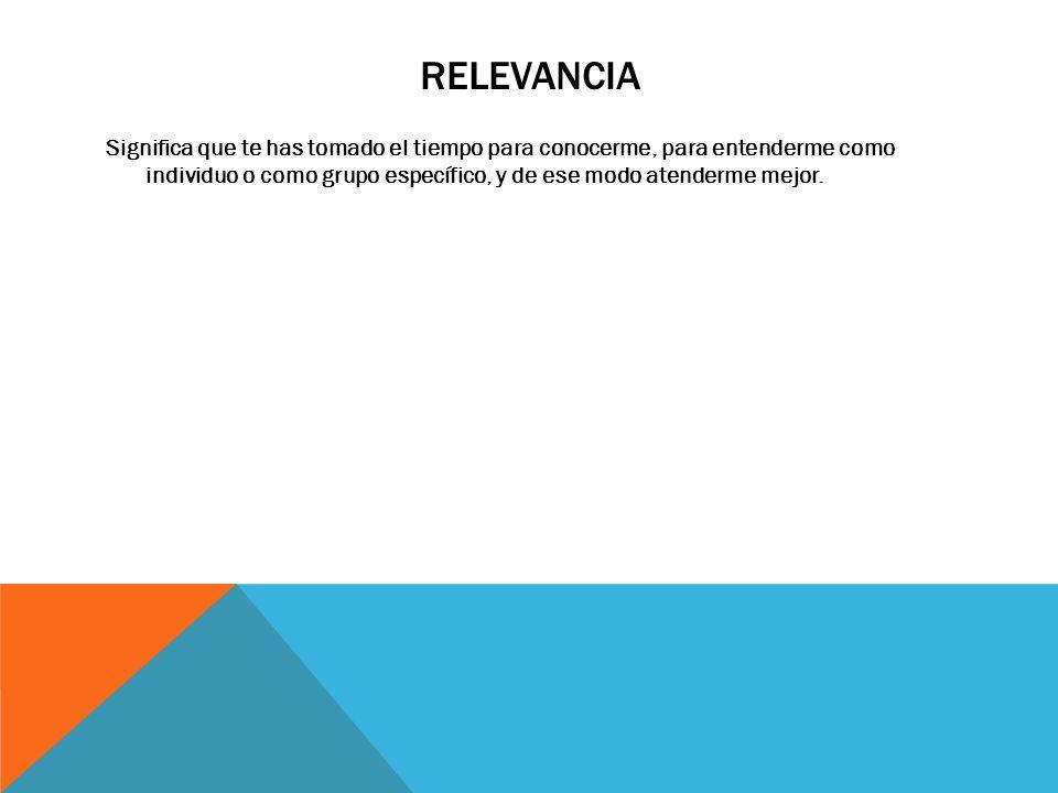 RELEVANCIA