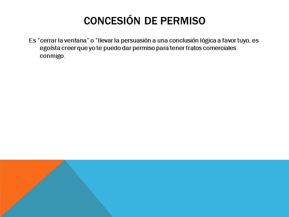 Concesión de permiso