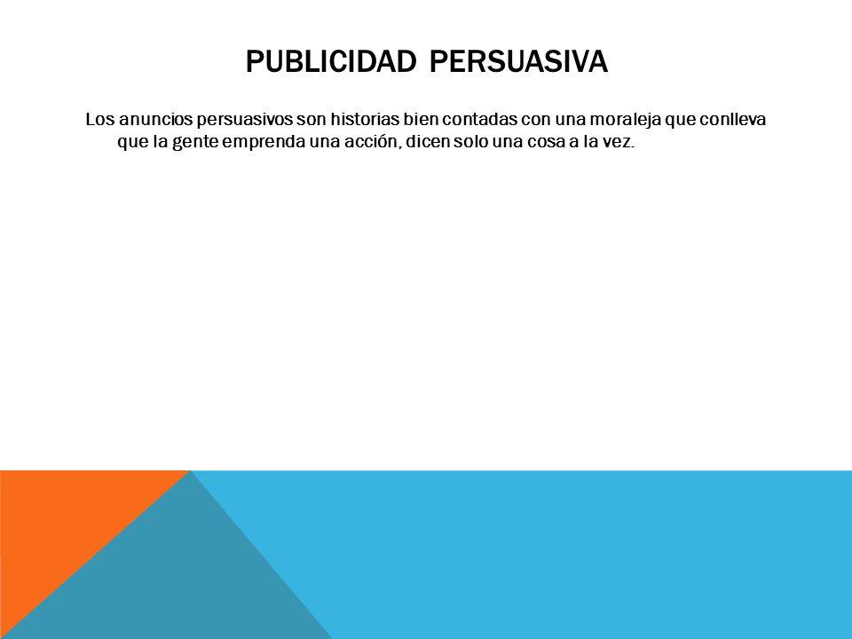 Publicidad persuasiva