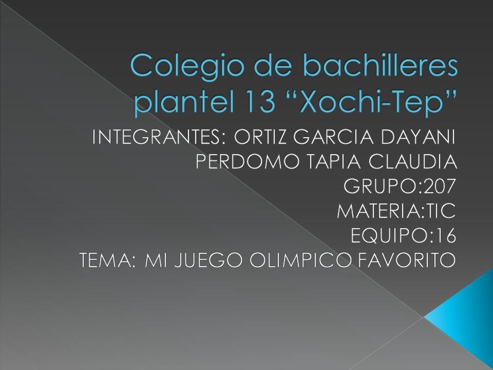 Colegio de bachilleres plantel 13 Xochi-Tep