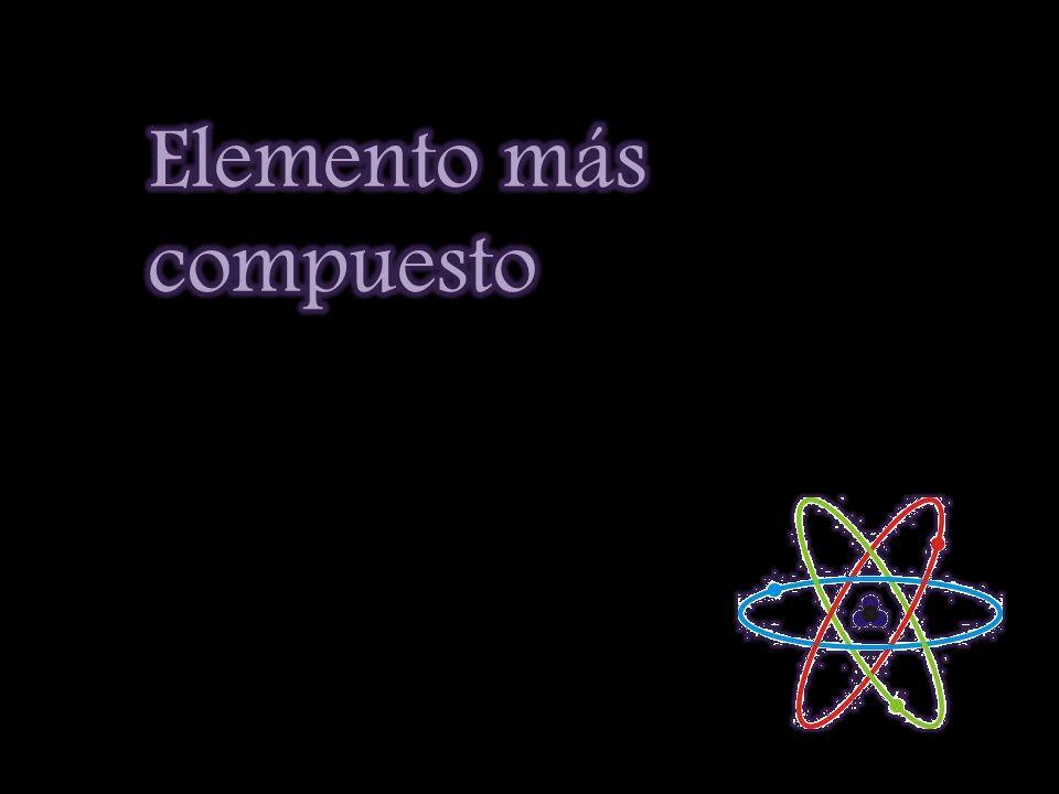 Elemento más compuesto