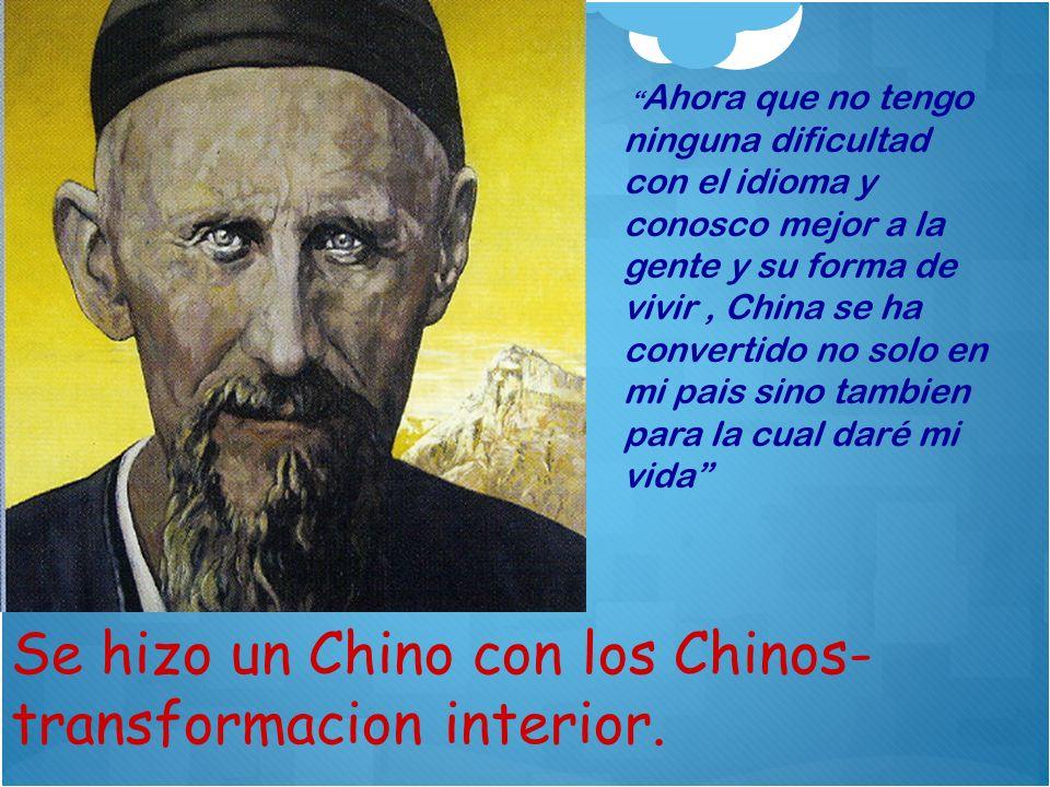 Se hizo un Chino con los Chinos- transformacion interior.