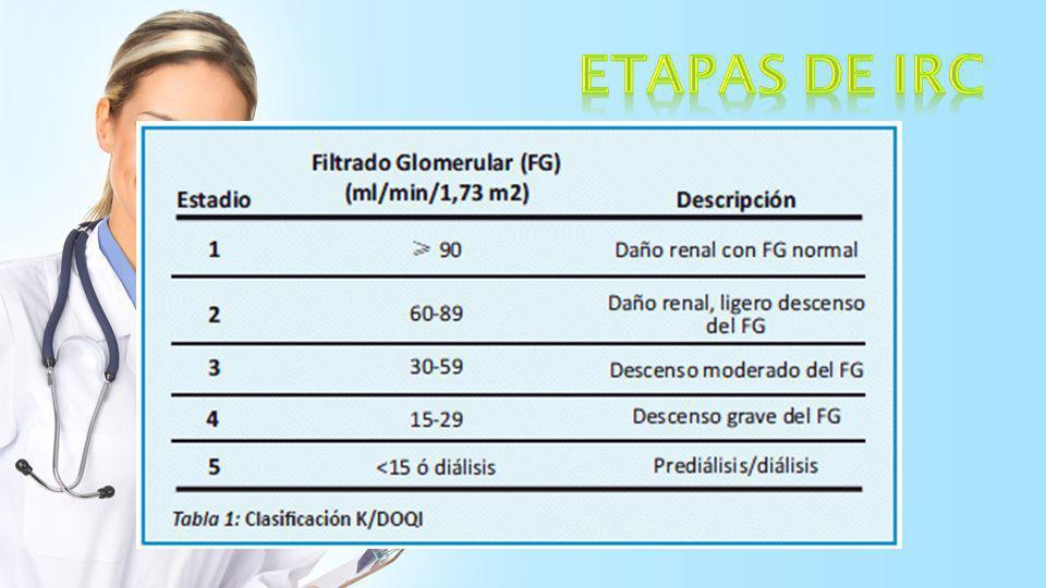 ETAPAS DE IRC