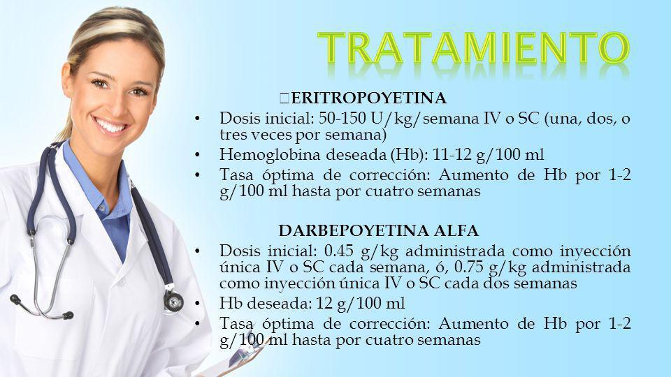 tratamiento ERITROPOYETINA