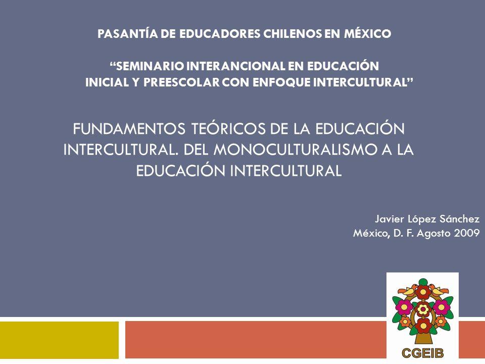 PASANTÍA DE EDUCADORES CHILENOS EN MÉXICO
