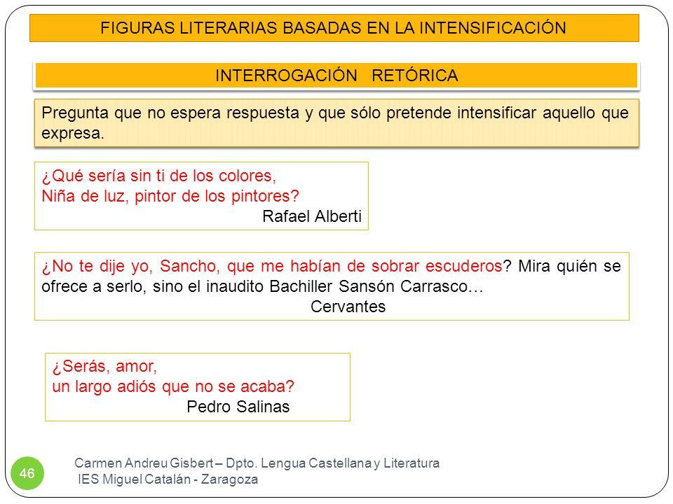 FIGURAS LITERARIAS BASADAS EN LA INTENSIFICACIÓN