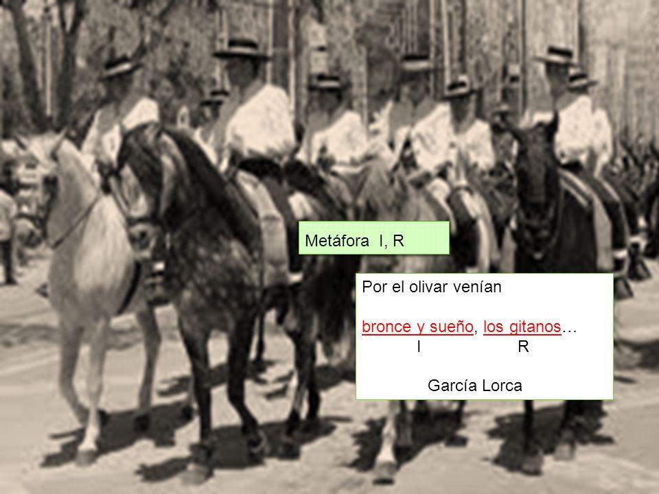 bronce y sueño, los gitanos… I R García Lorca