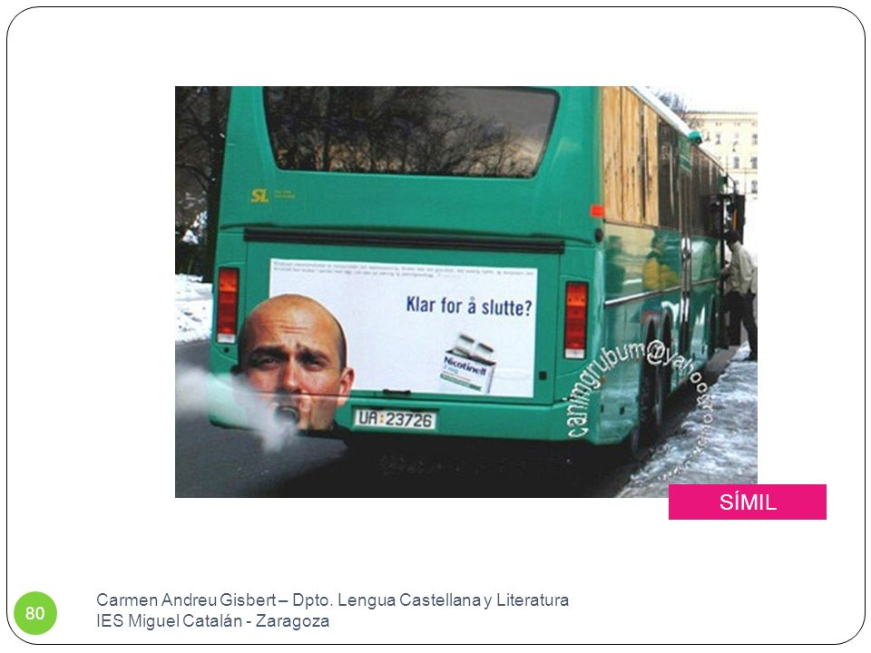 SÍMIL Carmen Andreu Gisbert – Dpto. Lengua Castellana y Literatura