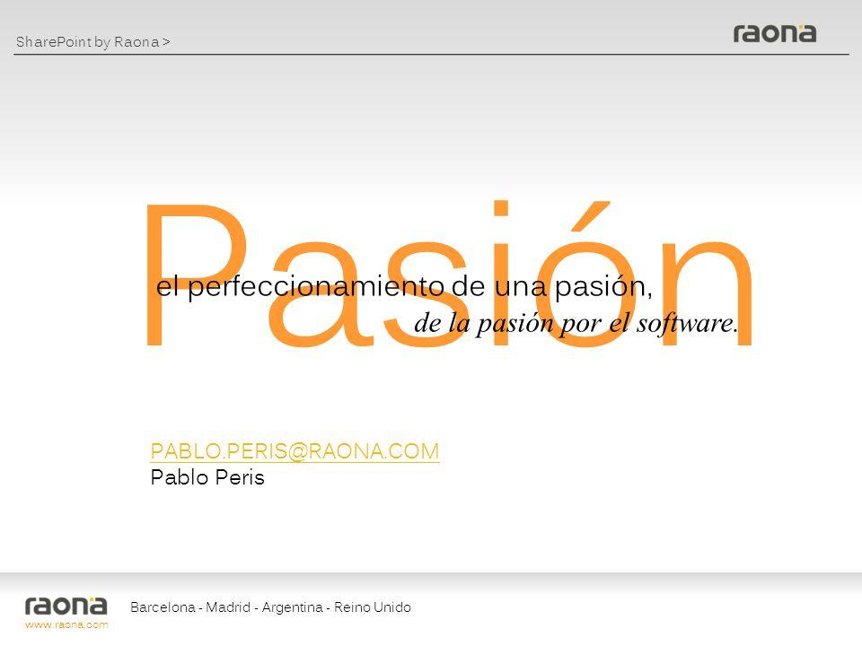 Pasión el perfeccionamiento de una pasión,