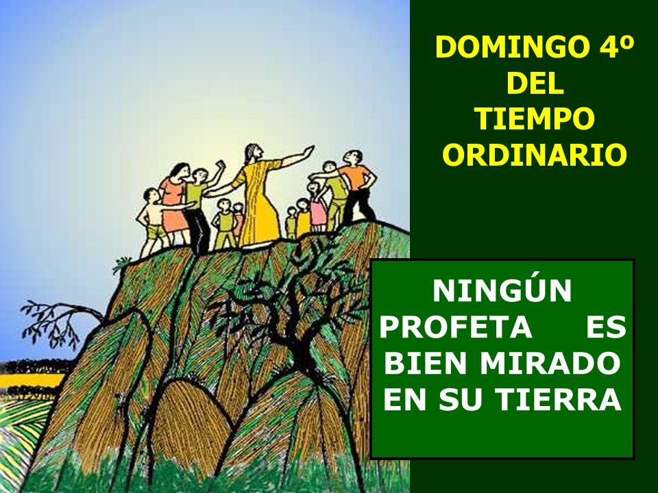 DOMINGO 4º DEL TIEMPO ORDINARIO