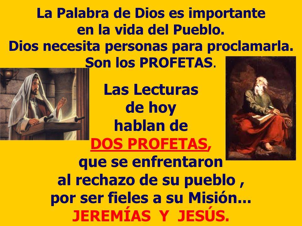 La Palabra de Dios es importante en la vida del Pueblo.