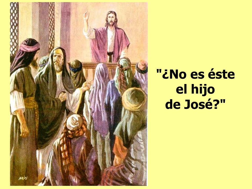 ¿No es éste el hijo de José