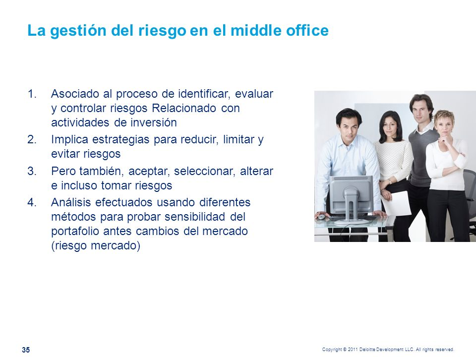 Consideraciones para auditar el Middle Office