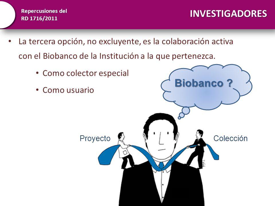 INVESTIGADORES Biobanco