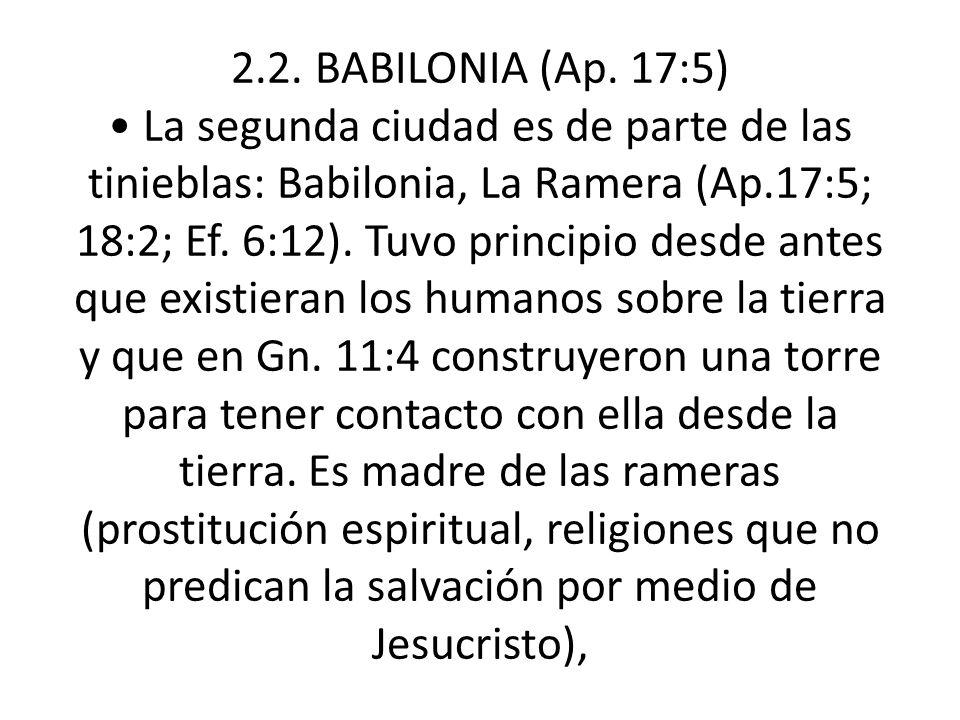 2.2. BABILONIA (Ap.