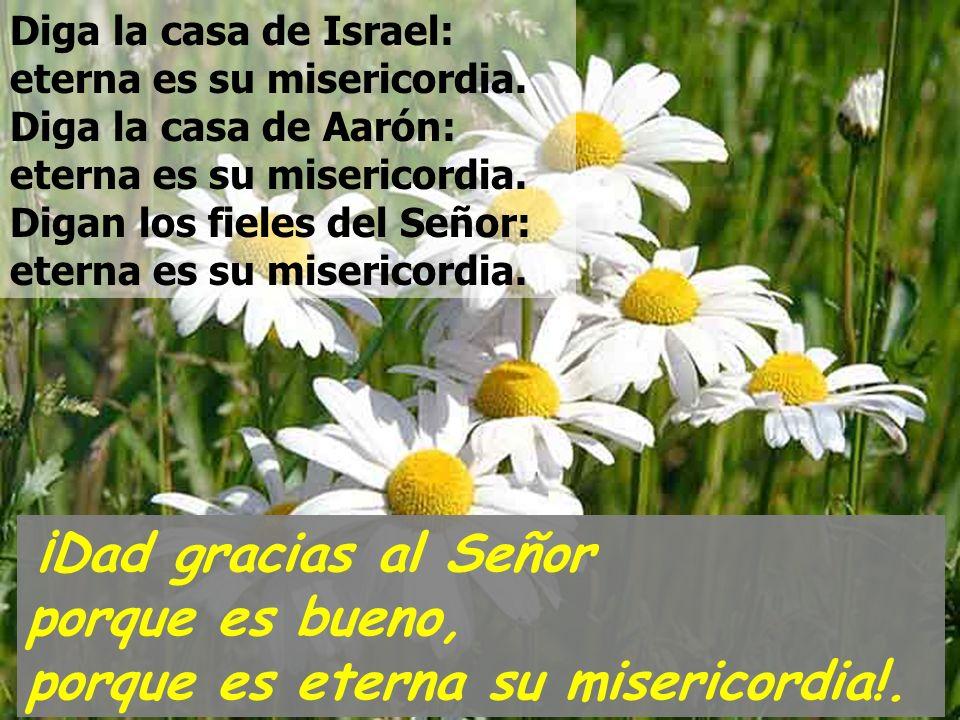 Diga la casa de Israel: eterna es su misericordia