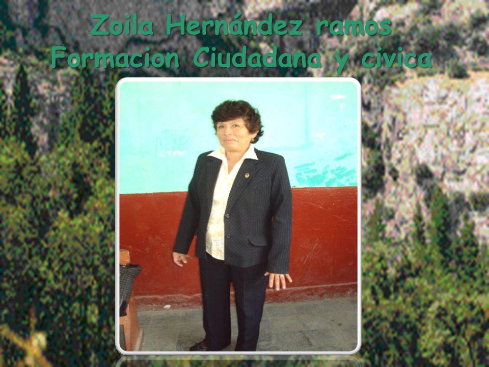 Zoila Hernández ramos Formacion Ciudadana y civica