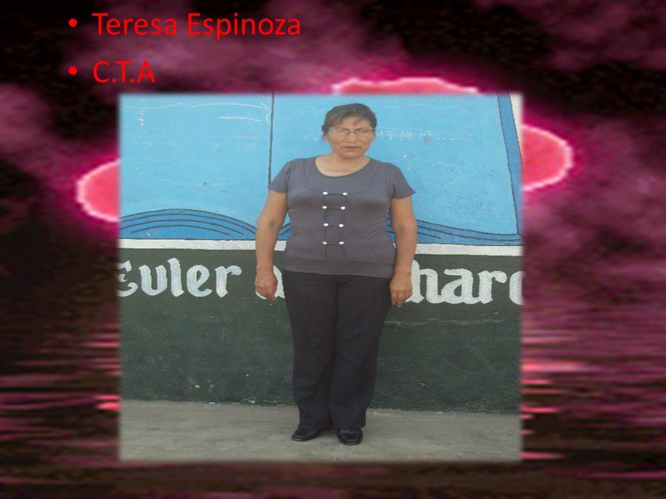Teresa Espinoza C.T.A