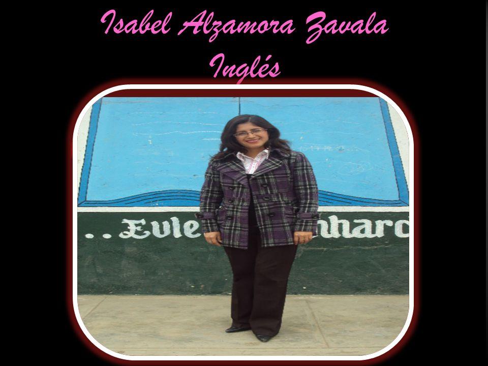 Isabel Alzamora Zavala Inglés