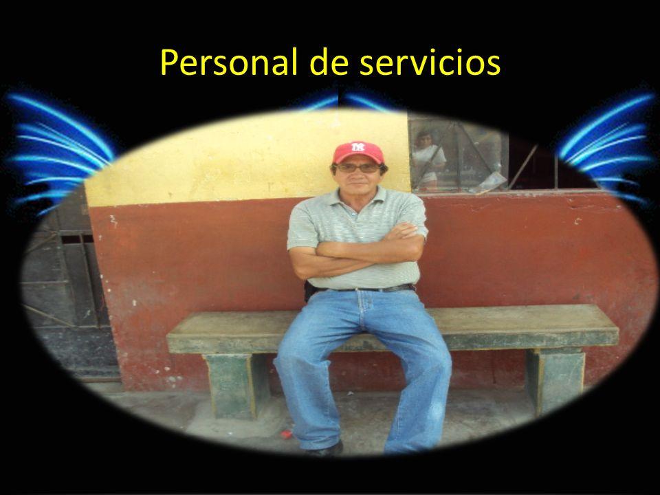 Personal de servicios