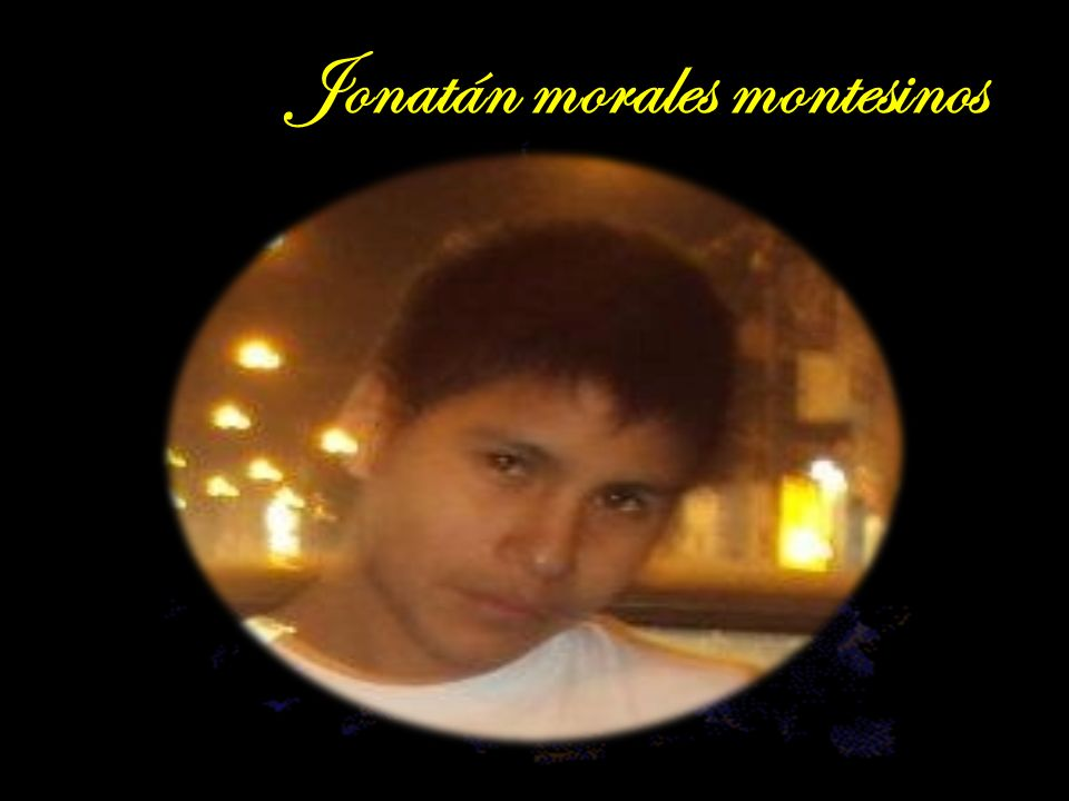 Jonatán morales montesinos