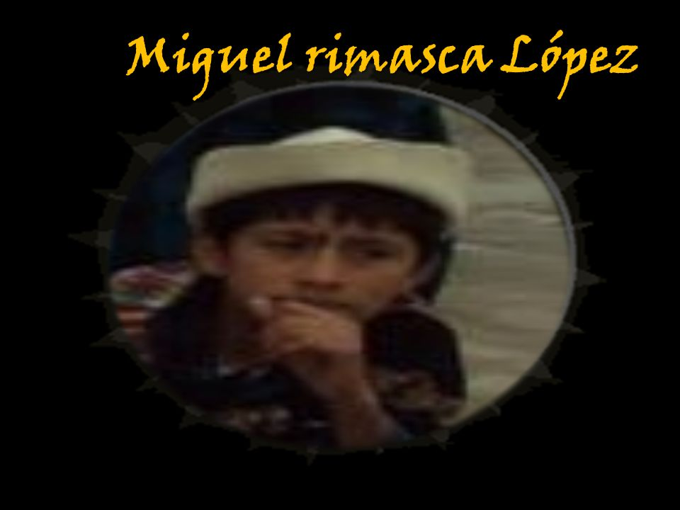Miguel rimasca López