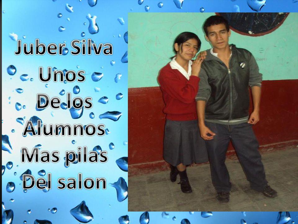 Juber Silva Unos De los Alumnos Mas pilas Del salon