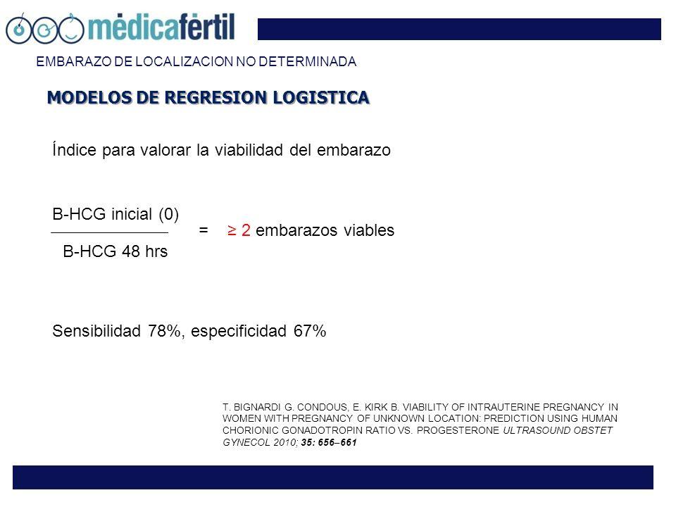 MODELOS DE REGRESION LOGISTICA