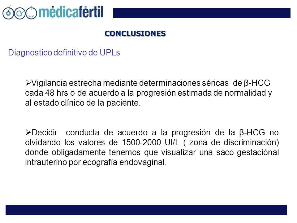 Diagnostico definitivo de UPLs